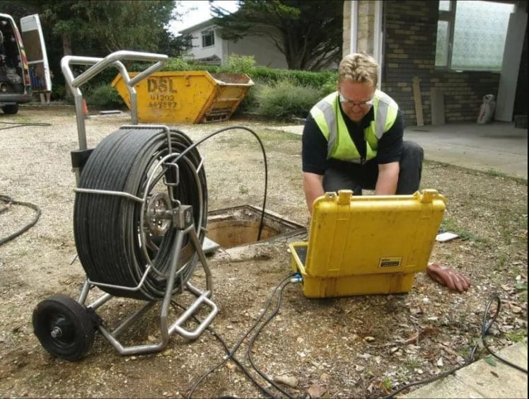 cctv drain surveys wimborne