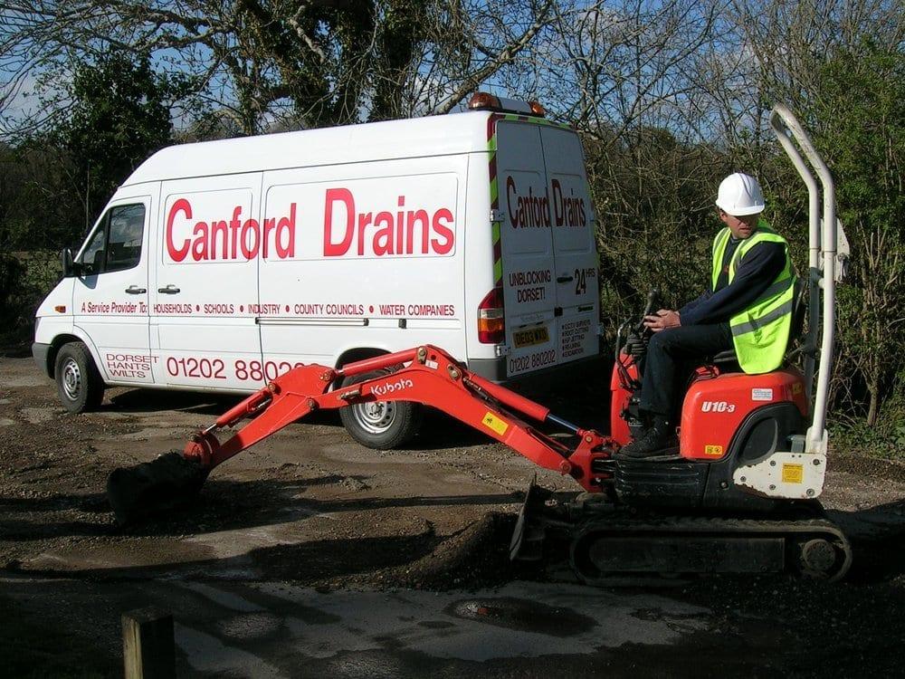 drain repairs verwood